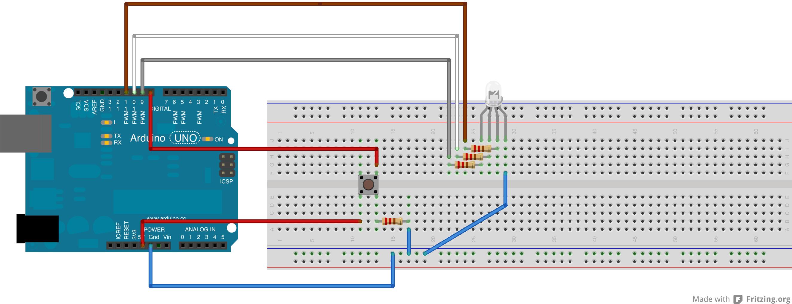 Nummer 5 Lebt Oder Wie Mein Arduino Board Mit Javascript Gesteuert Schematic Of The Rgb Led Circuit Rgbled Steckplatine Kopie