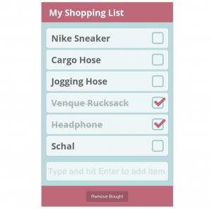 Girls' Day 2016 - Shopping List