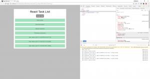 Anzeige neu erstellter Task-Items