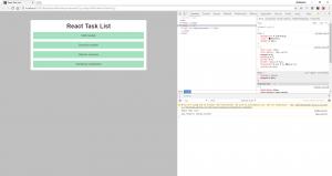 Anzeige der statischen Task-Items