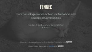 FENNEC – Präsentation