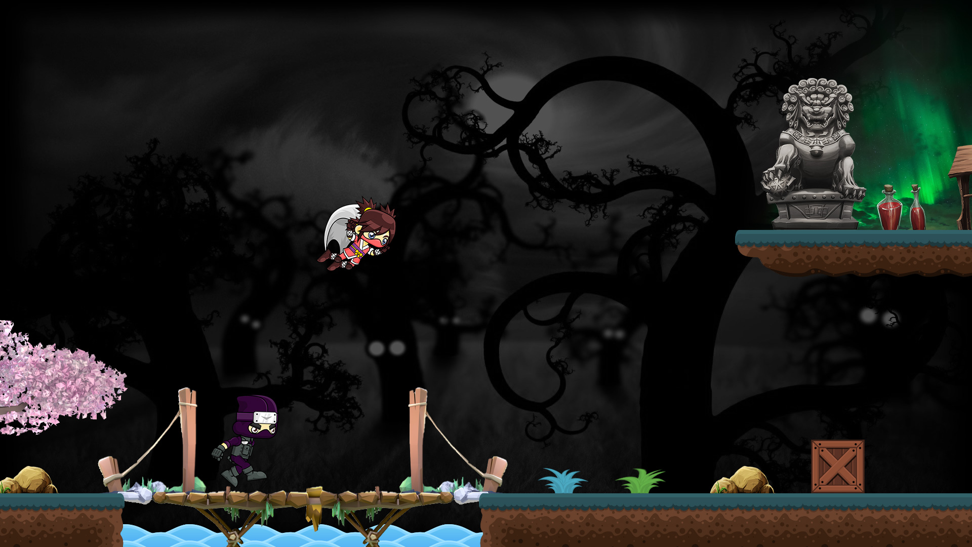 "Coding Ninjas - Screenshot ""Brücke"""