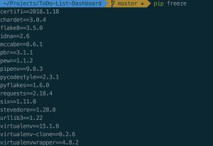 Python-Abhängigkeiten ohne aktives pythonenv
