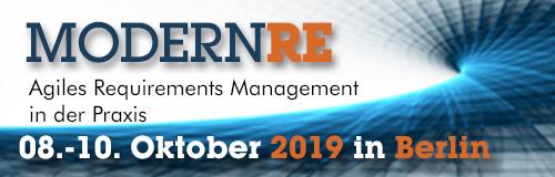 Agiles Portfoliomanagement auf der Modern RE 2019