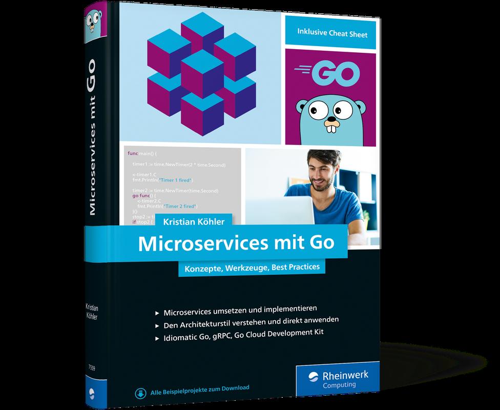 Microservices mit Go, Rheinwerk Verlag